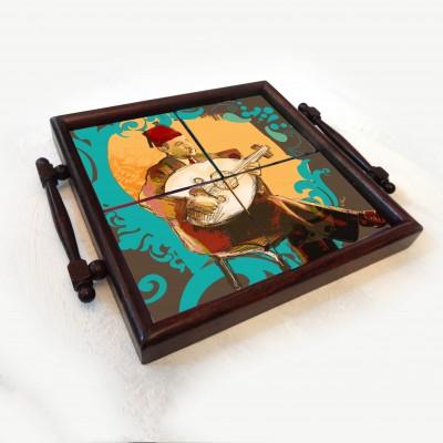 oud coaster tray