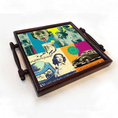 Vintage ads Coaster