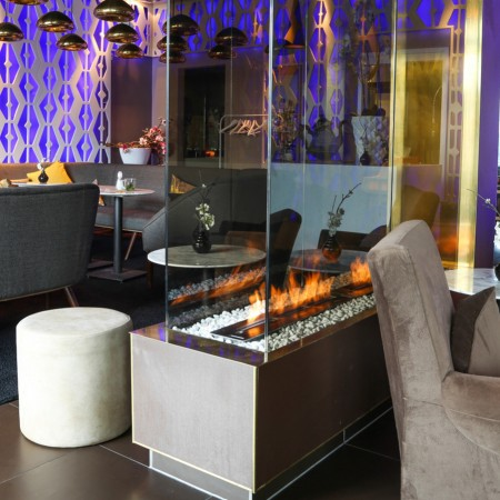 Fireplaces in Restaurant