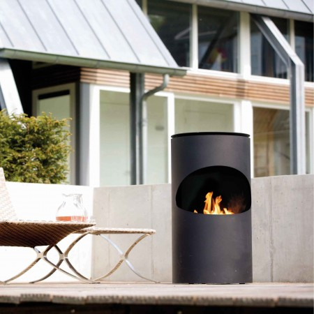 Silo + bio burner outdoor copy