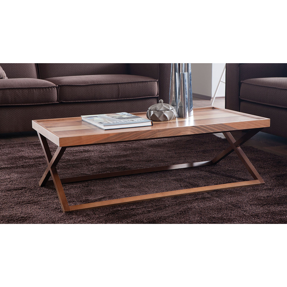 Kare Black Coffee Table: Kare Coffee/Side Table > Blend Furniture